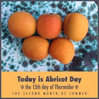Today is 'Abricot' Day, not August 1st